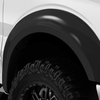 Stampede® - Trail Riderz™ Front and Rear Smooth Black Fender Flares
