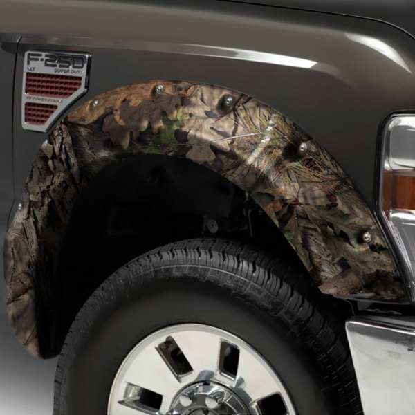 Stampede® - Ruff Riderz™ Mossy Oak™ Break-Up Country Front and Rear Fender Flares