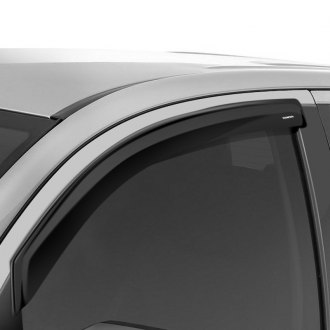 Stampede® - In-Channel Tape-Onz™ Smoke Front Sidewind Deflectors