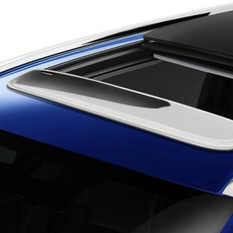 Stampede® - Chrome Wind Tamer Sunroof Deflector