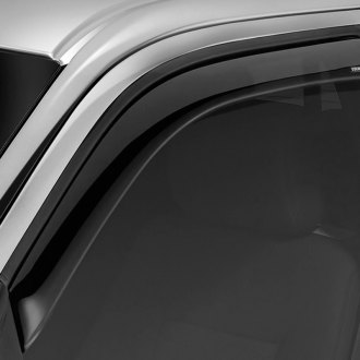 Stampede® - Snap-Inz™ Smoke Front and Rear Sidewind Deflectors