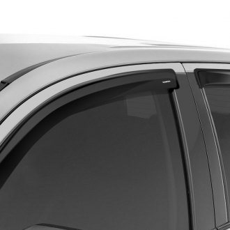 Stampede® - Tape-Onz™ Smoke Front and Rear Sidewind Deflectors
