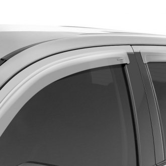 Stampede® - Tape-Onz™ Front and Rear Clear Sidewind Deflectors