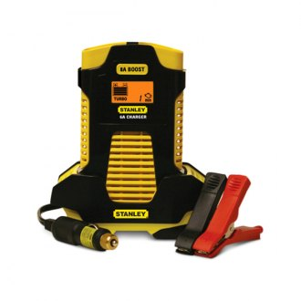 Stanley Tools® - 6 Amp Automatic Battery Charger with 8 Amp Boost