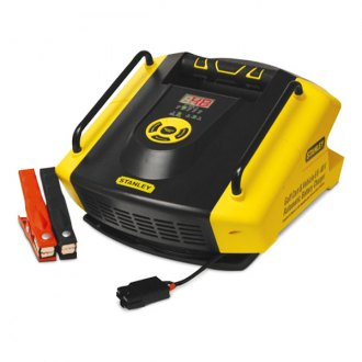 Stanley® - Vehicle and Golf Cart Multi Volt Battery Charger