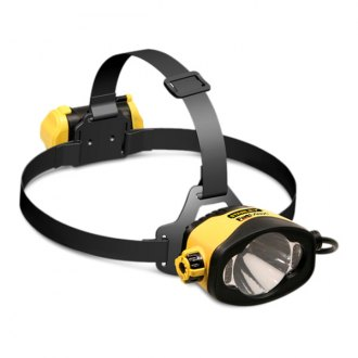 Stanley Tools® - Waterproof LED Alkaline Headlamp