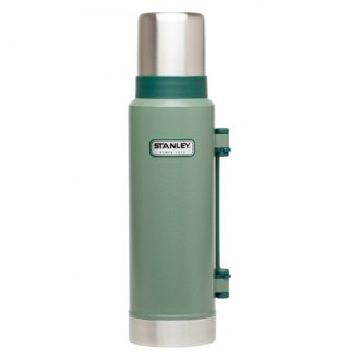 Stanley® - Classic 1.4 Quart Stainless Steel Hammertone Green Vacuum Insulated Bottle