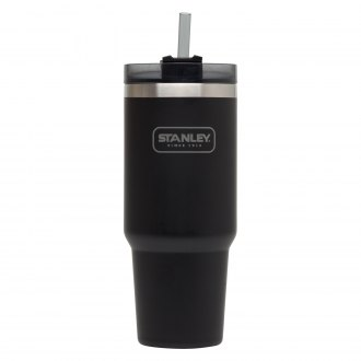Stanley® - Adventure 30 oz Matte Black Vacuum Insulated Quencher
