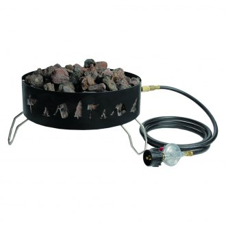 Stansport® - Propane Fire Pit with Lava Rocks