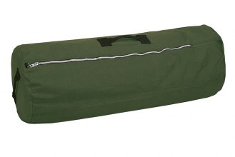 "Stansport® - Duffel Bag With Zipper - O.D. - 21"" X 36"""