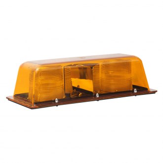 Star Warning Systems® - 9200S Series Amber Strobe Double Flash Star Mini-Bar