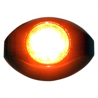 Star Warning Systems® - Star Mini-Comet Amber Spherical LED Head