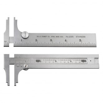 Starrett® - Stainless Steel Pocket Slide Caliper