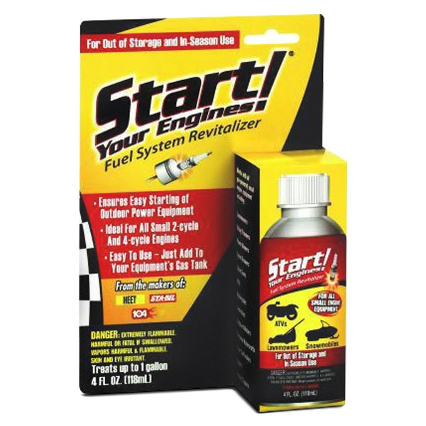 Start Your Engines!® - Fuel System Revitalizer 4 oz