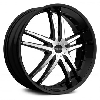 STATUS® - FANG Black with Chrome Inserts