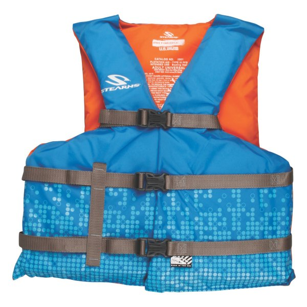 Stearns® - Classic Series Adult Oversize Blue/Orange Life Jacket