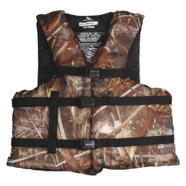 Stearns® - Classic Series Adult Oversize Camo Vest