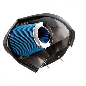 Steeda Autosports® - High Velocity Cold Air Intake System with Blue Filter