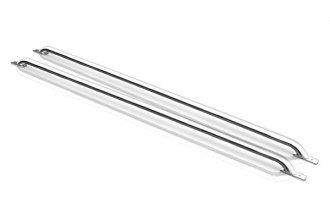 SteelCraft® 600017 - Stainless Steel Bed Rails (5.5' Bed)