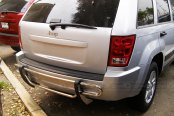 SteelCraft® - Double Tube Stainless Steel Rear Bumper Guard - Installed
