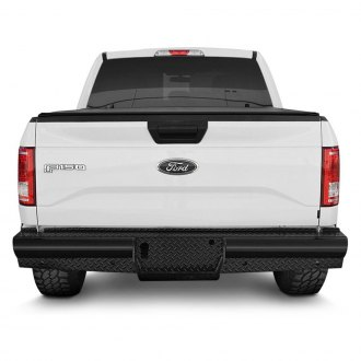 SteelCraft® - HD Black Rear Replacement Bumper