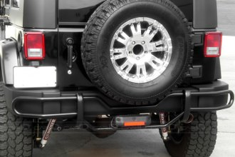 STEELCRAFT� - Black Rear Bumper Guard - Installed