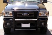 SteelCraft® - Stainless Steel Grille Guard - Installed