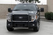 SteelCraft® - Polished Grille Guard Installed