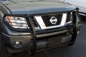 SteelCraft® - Black Powdercoat Grille Guard - Installed