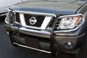 Image may not reflect your exact vehicle! SteelCraft® - Stainless Steel Grille Guard - Installed