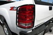 SteelCraft® - Black Taillight Guards