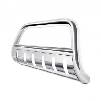 Image may not reflect your exact vehicle! SteelCraft® - 3 Stainless Steel Bull Bar