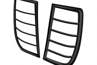 SteelCraft® 31320 - Black Powdercoat Tail Light Guards