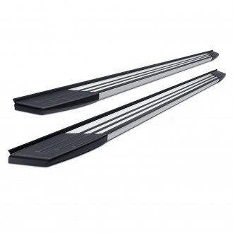 "SteelCraft® - 6"" STX200 Series Wheel-to-Wheel Polished Running Boards"
