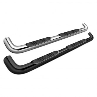 "SteelCraft® - 4"" Premium Cab Length Oval Side Bars"