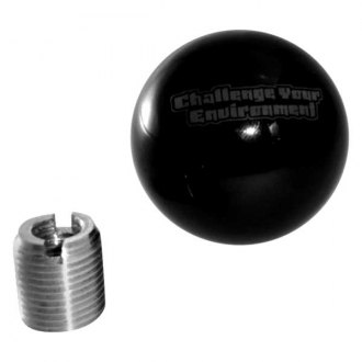 Steinjager® - Manual Challenge Your Environment Black Shift Knob