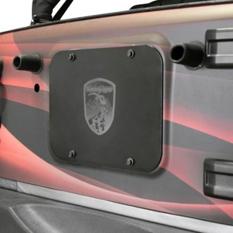 Steinjager® - Spare Tire Carrier Delete Plate