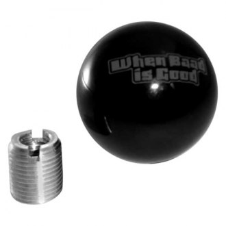 Steinjager® - When Baad is Good Black Shift Knob