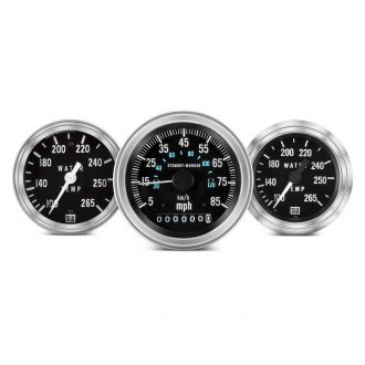 Stewart Warner® - Deluxe Series Gauges