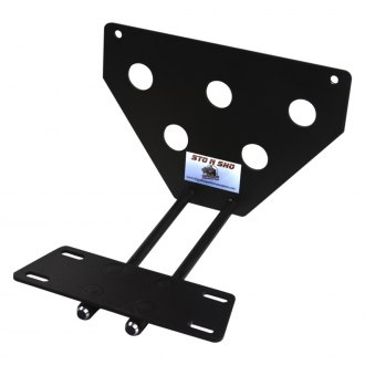 Sto N Sho® - Quick Release Upper Front License Plate Bracket