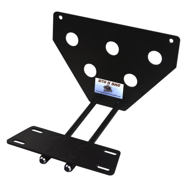 Sto N Sho® - Quick Release Upper License Plate Bracket