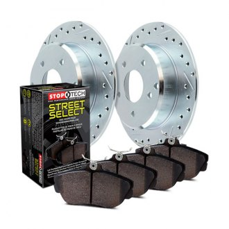 StopTech® - Select Sport Drilled and Slotted Rear Brake Kit