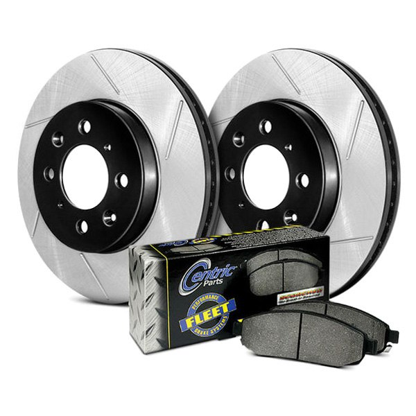 StopTech® - Performance Truck Slotted Front and Rear Brake Kit