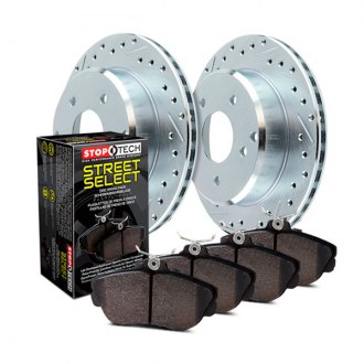 StopTech® - Select Sport Drilled and Slotted Brake Kit