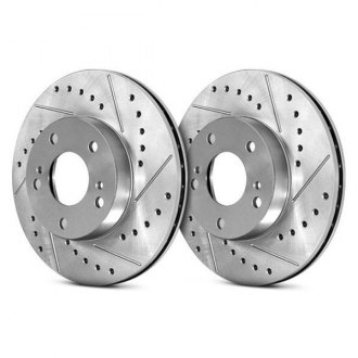 StopTech® - Select Sport Drilled and Slotted Vented 1-Piece Front Brake Rotor