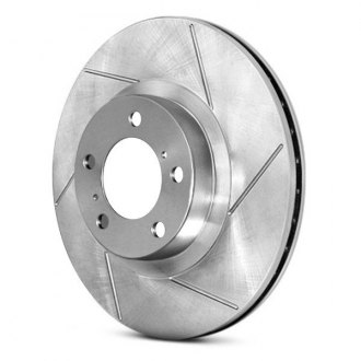 StopTech® - Select Sport Slotted 1-Piece Front Brake Rotor