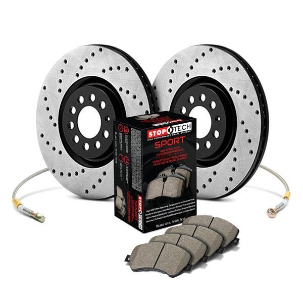 StopTech® - Sport Drilled Front and Rear Brake Kit