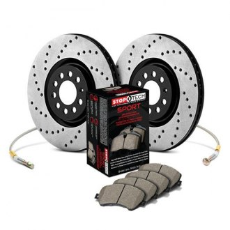 StopTech® - Drilled Sport Brake Kit