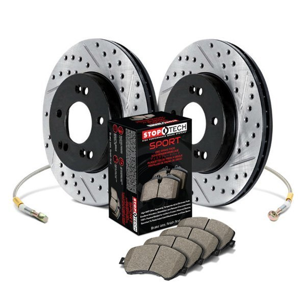 StopTech® - Sport Drilled and Slotted Front and Rear Brake Kit