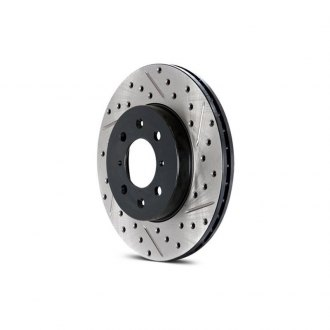 StopTech® - Sport Drilled and Slotted 1-Piece Brake Rotor